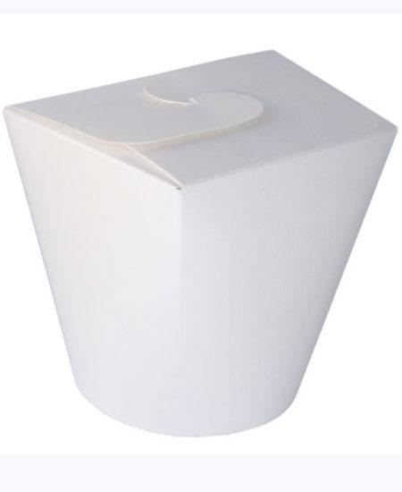 Contenedor para golosinas y aperitivos blanco Pack 10 Uds-0