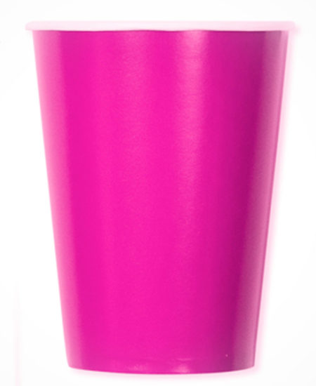 Vasos Papel Rosa · Pack 10 Uds-0