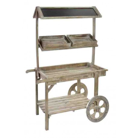 carro madera vintage