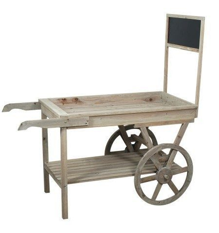 carro madera pizarra