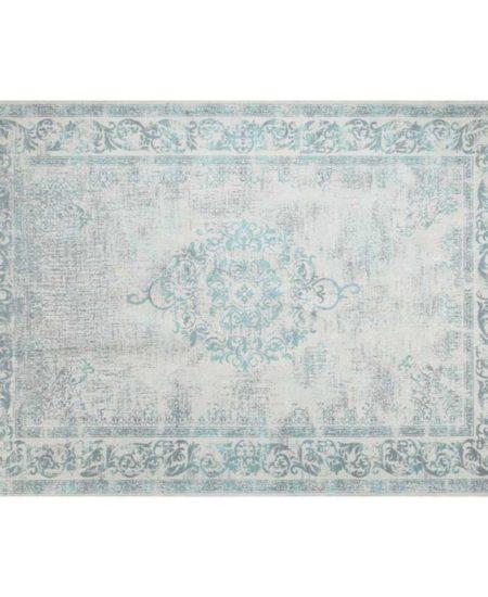 alfombra kilim verde y auzl