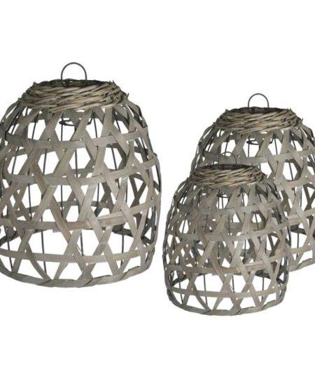lampara bambú