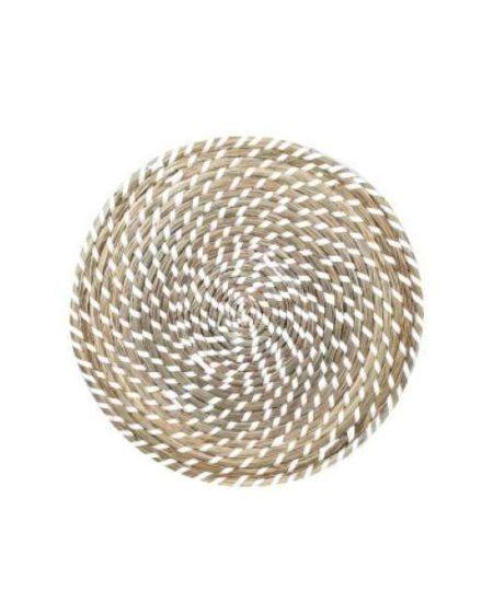 bajoplato fibra blanco