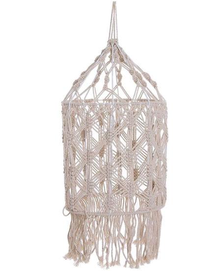 comprar lampara macrame