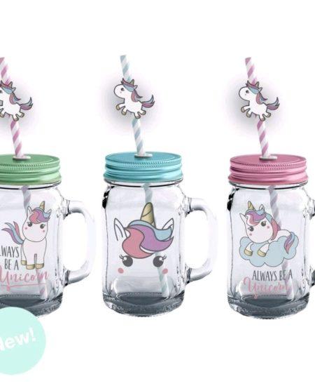 jarra cristal unicornio